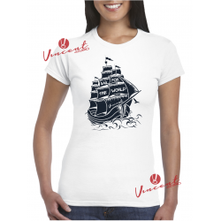 T-shirt I SAIL THE WORLD